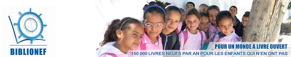 Biblionef 150 000 livres pour les enfants