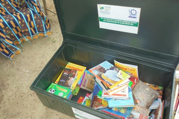 Plus de 5 000 livres neufs pour le projet ECLIC