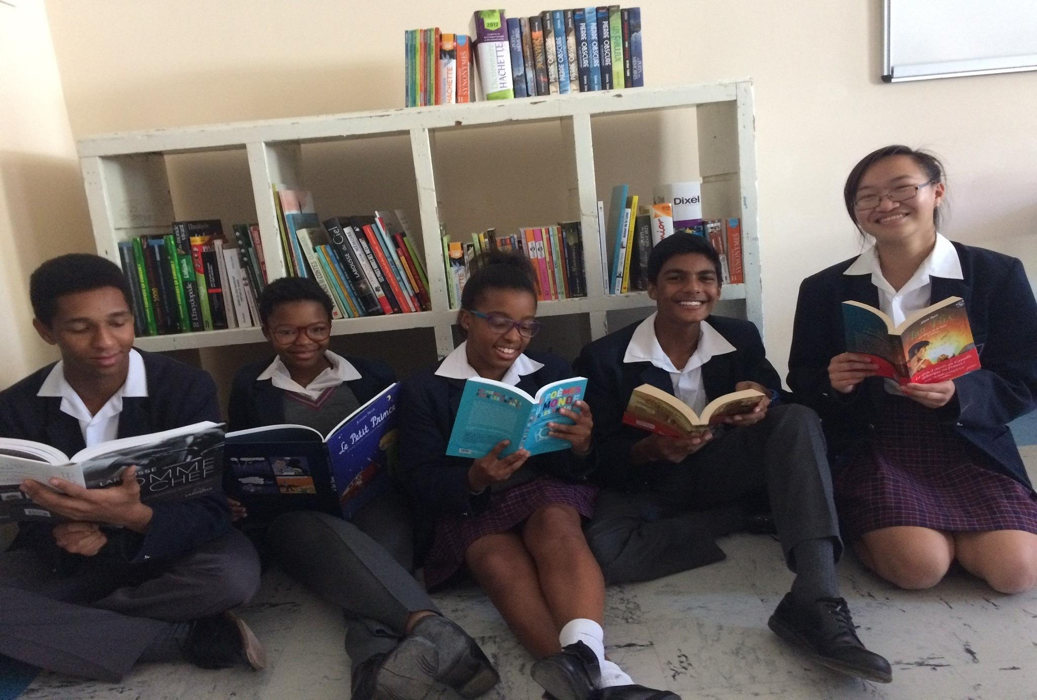 En Afrique du Sud, plus de 12 000 livres pour les apprenants du Gauteng