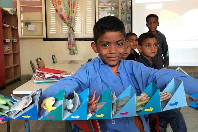Biblionef rencontre les élèves du gouvernorat tunisien de Tozeur