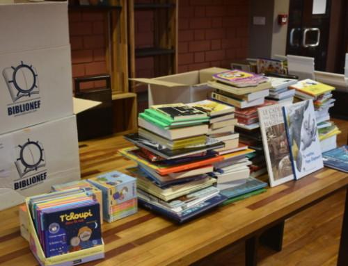 Togo : 1250 livres pour la médiathèque de l'Institut français et deux orphelinats