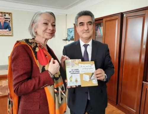 Plus de 4 000 livres pour soutenir l'apprentissage du français au Tadjikistan