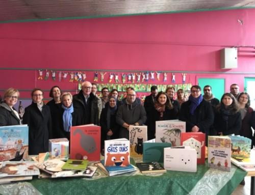 Biblionef remet plus de 6200 livres à 15 écoles de l'agglomération lilloise