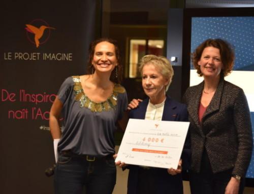 Dominique Pace, directrice de Biblionef mise à l'honneur par le projet Imagine
