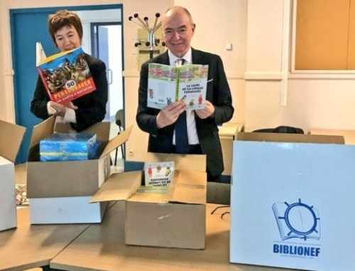 « 1000 livres pour les Cités éducatives » une action de Biblionef pour la continuité éducative dans les quartiers prioritaires