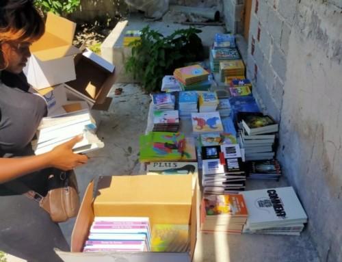 600 livres pour le camp de réfugiés de Moriasur l'île grecque de Lesbos.