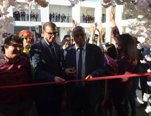 Inauguration du fonds de 3 000 livres de la médiathèque régionale de Kairouan